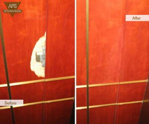 Damaged-Elevator-Wood-Panel
