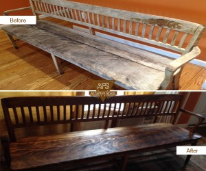 Teak-Wood-Bench-repair-wax-finish