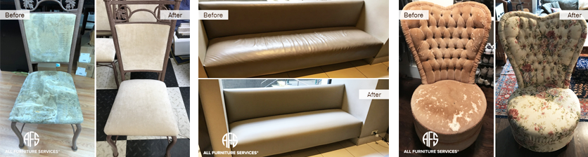 Furniture Re-Upholstery!