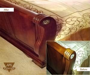 Bed-Footboard-wood-repair-finish