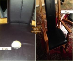 Damage-burn-seat-repair-upholstery