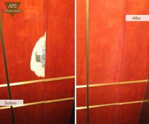 Damaged-Elevator-Wood-Panel