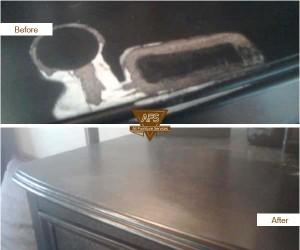 Dresser-Top-Finish-Damage