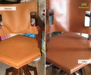 Leather-Re-upholstery